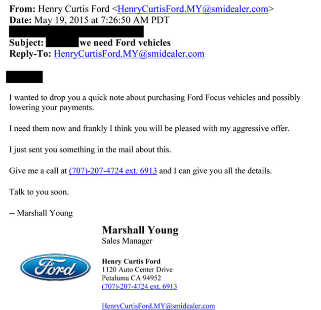 """Tips For A Successful Candy Buy Back Ford Dealers Offering To """"buy Back"""" The Fiesta And Focus"""