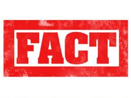 Facts are not defamatory