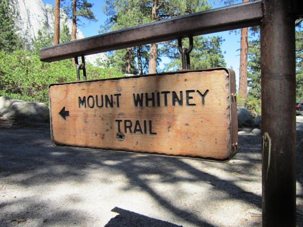 Mt Whitney Trail Sign