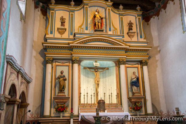 Mission San Luis Rey de Francia in Oceanside - California Through My