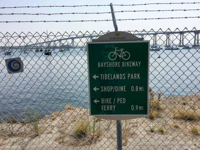 Biking Coronado Island Along the Bayshore Bikeway - California