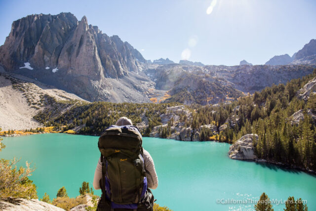 North Fork Of Big Pine Backpacking To The Glacial Lakes