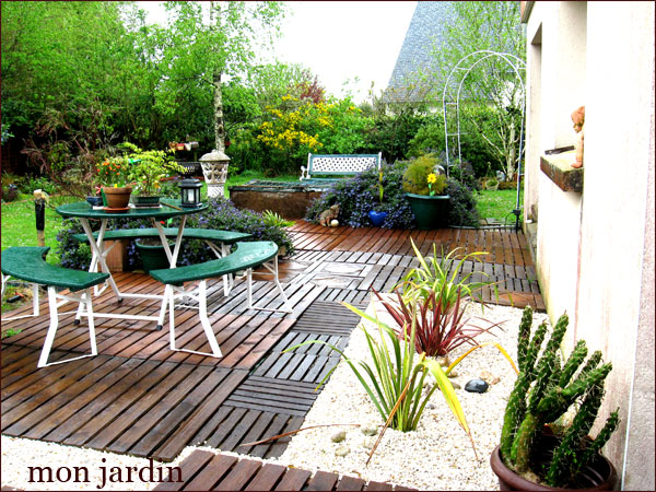 Bache Table Exterieur Mon Jardin ( Envie De Restructure ) « Calimerette