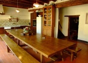 Can Ventura - menjador, cuina