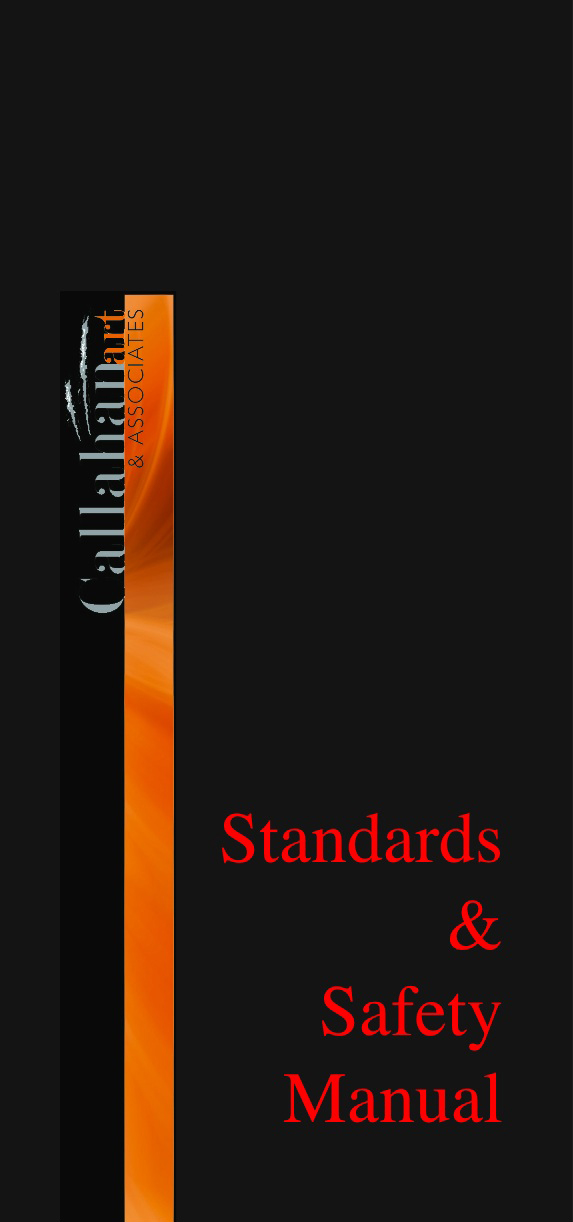 Standards safety manual Art handling services Callahan art and