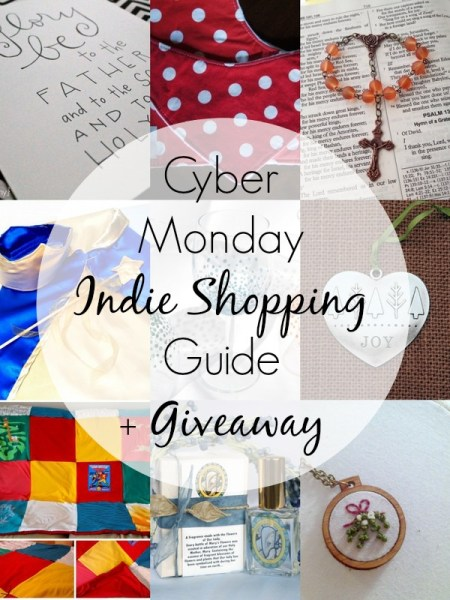 Cyber Monday Indie Shopping Guide + Giveaway