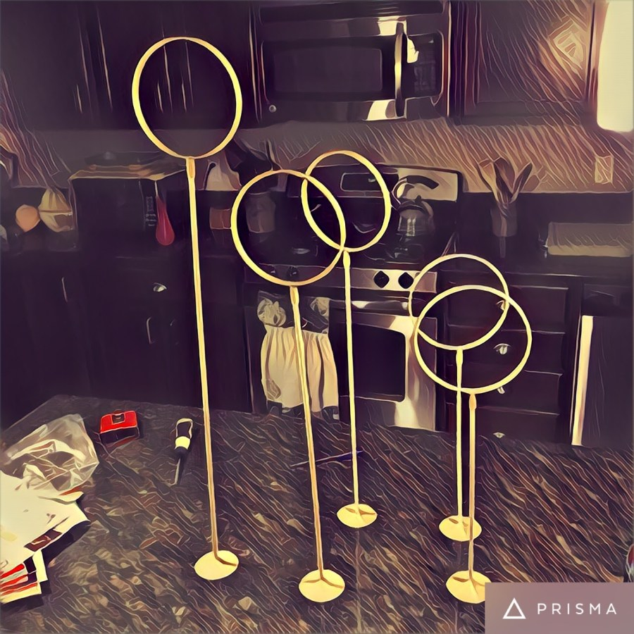 Table Quidditch Hoops