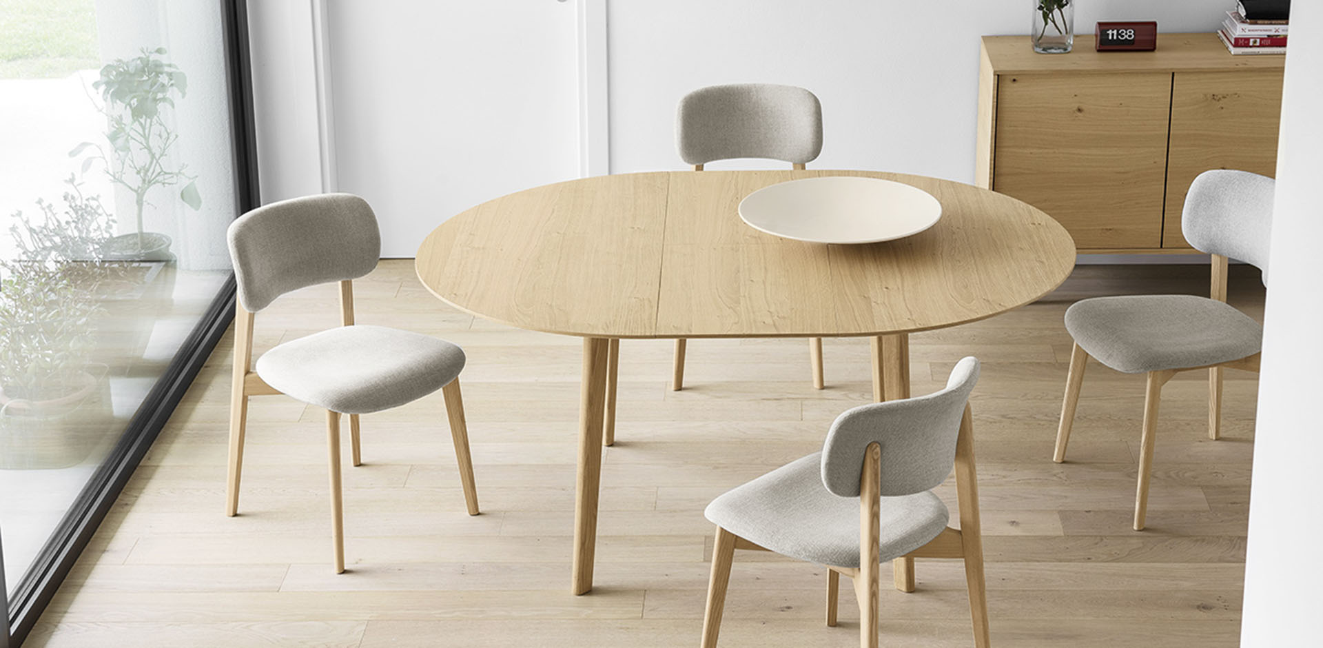 Tische Calligaris Cs4063 D 120 Cream Table