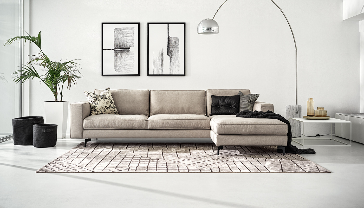 Calligaris Square Contemporary Sofa Fabric Leather Cs3371 Calligaris Nyc New York City Soho Chelsea Upper East Side