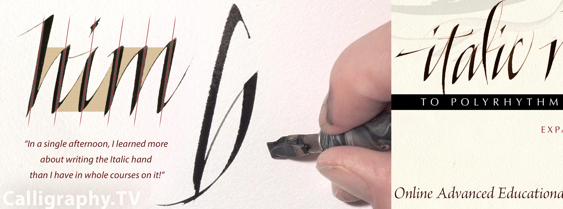 Calligraphy Online Online Calligraphy Masterclass