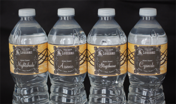 Free Printable Poison Water Bottle Labels Call Me Victorian