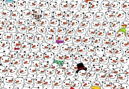 Laughing Snowmen, Hidden Panda