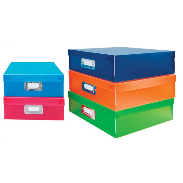 Document Boxes - Color Set of 5 Calloway House