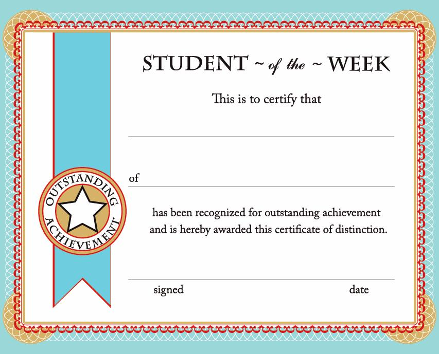 Printable Certificates  Awards Calloway House