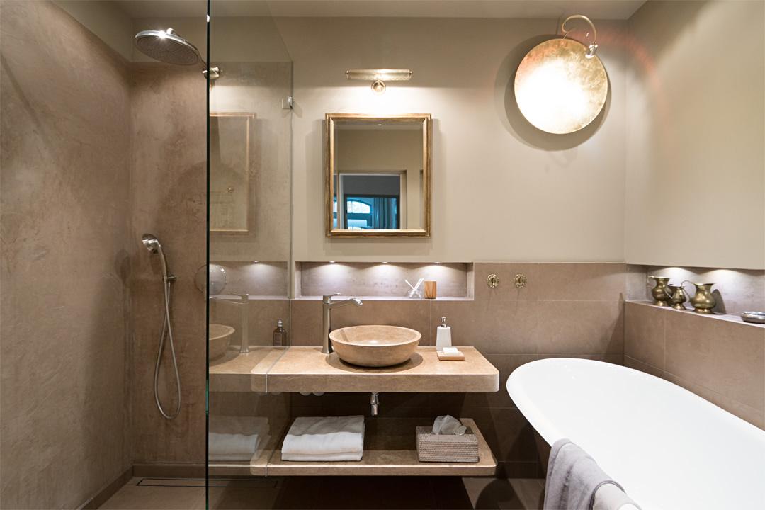 Badezimmer Mediterraner Stil