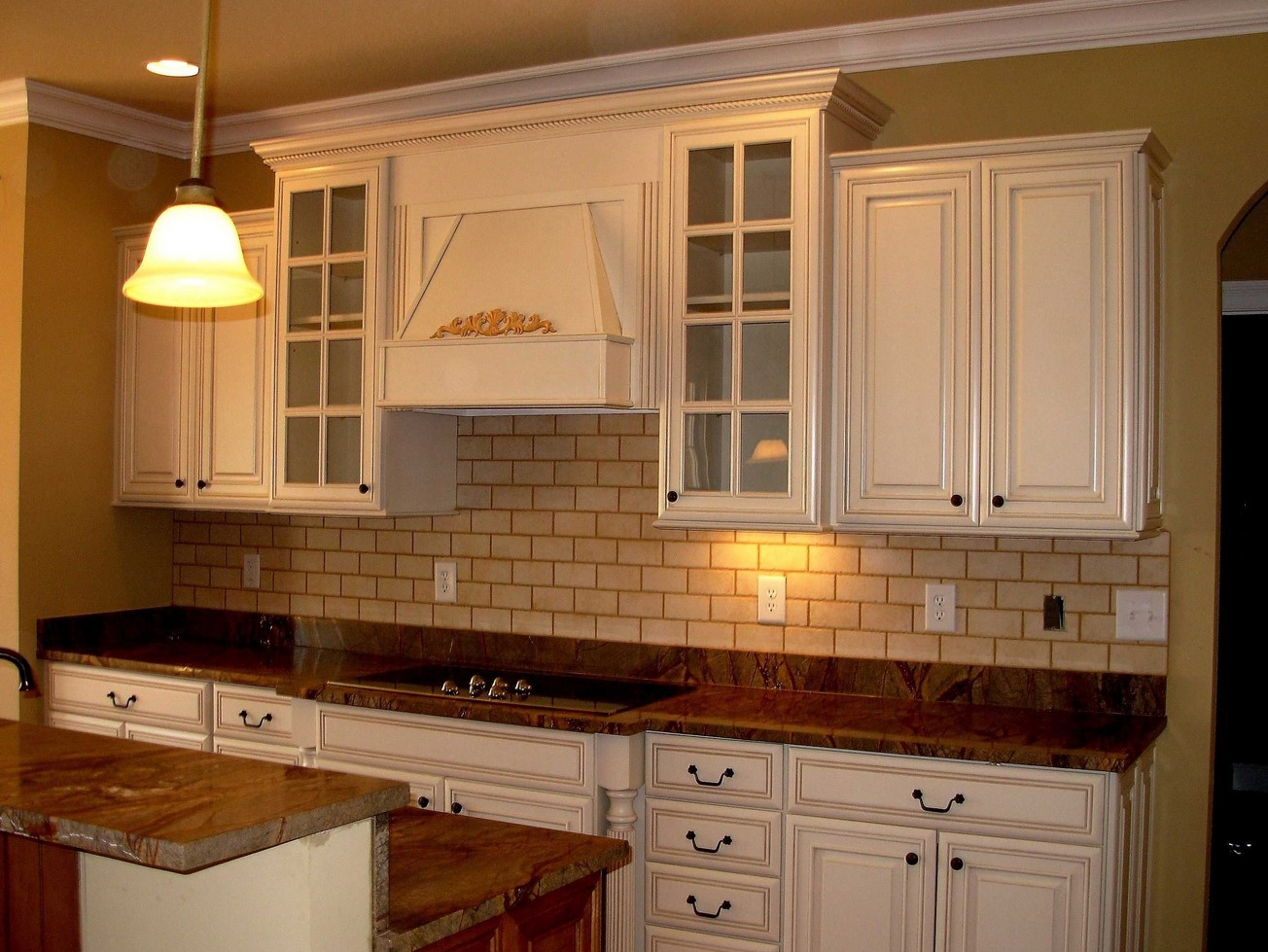 How To Prep Kitchen Cabinets For Painting How To Paint Kitchen Cabinets To Look Antique Top Home