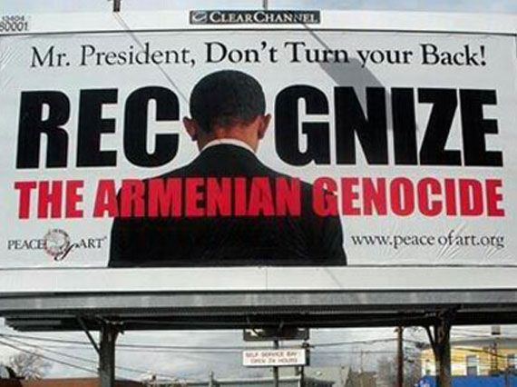 Obama draws CA ire on Armenian genocide