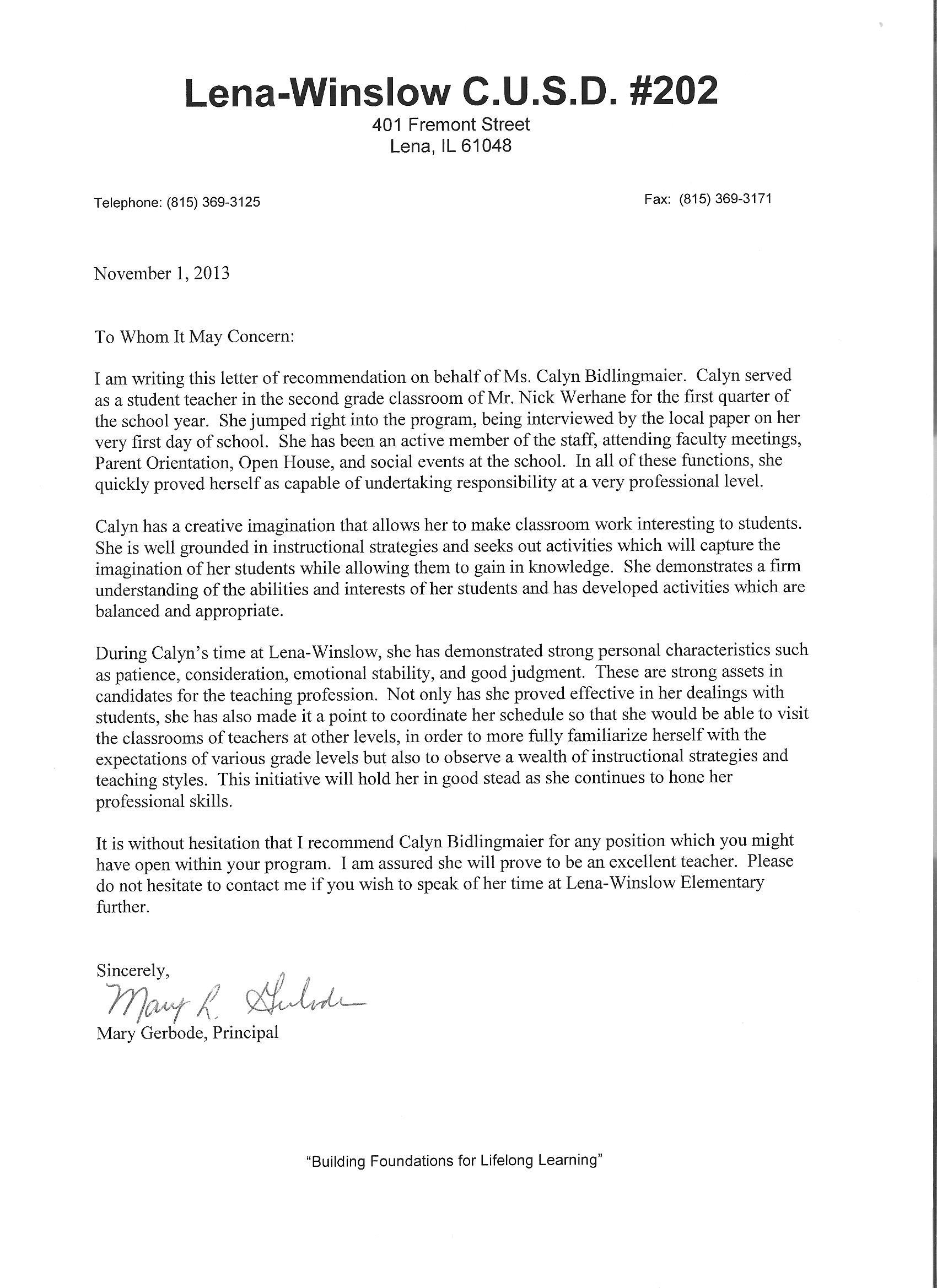 Medford Elementary School Patchogue Medford School District Licensure Elements Calyn Bidlingmaiers Teaching Portfolio