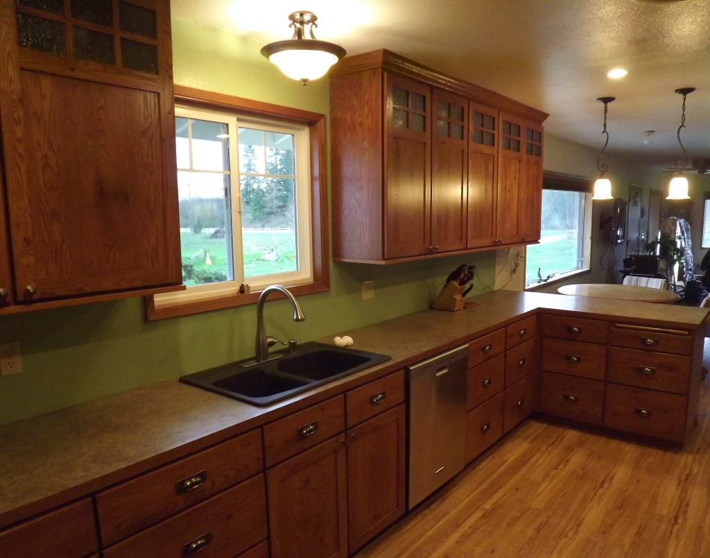 Craftsman Style Kitchen Design Image Pictures Craftsman Style Kitchen Traditional Kitchen Kustom