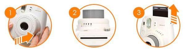 Fujifilm Instax Mini 8 funcionamiento