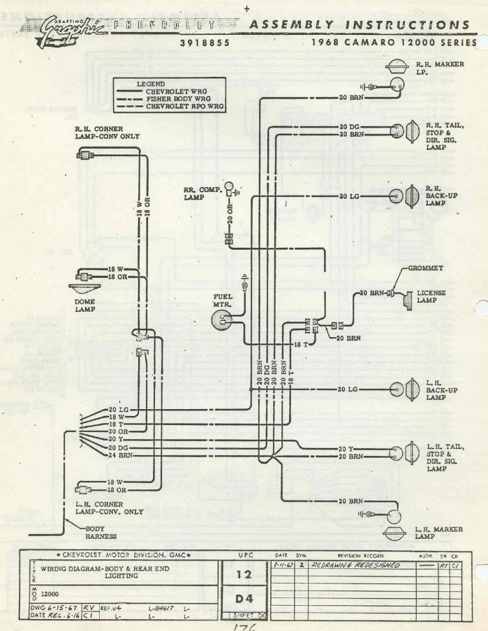 1967 Chevy Camaro Wiring Diagram - 6omekuqrxchristfellowshipchurch