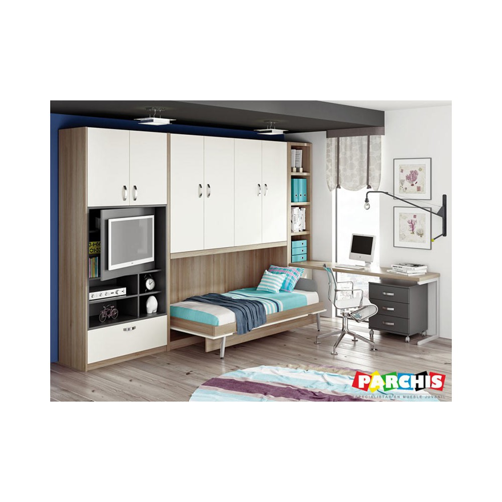 Cama Mueble Abatible Cama Abatible Horizontal Carriches Camas Abatibles