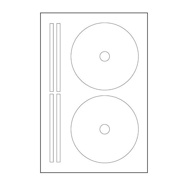 Avery Compatible (8960) CD/DVD Labels \u2013 CAM Audio