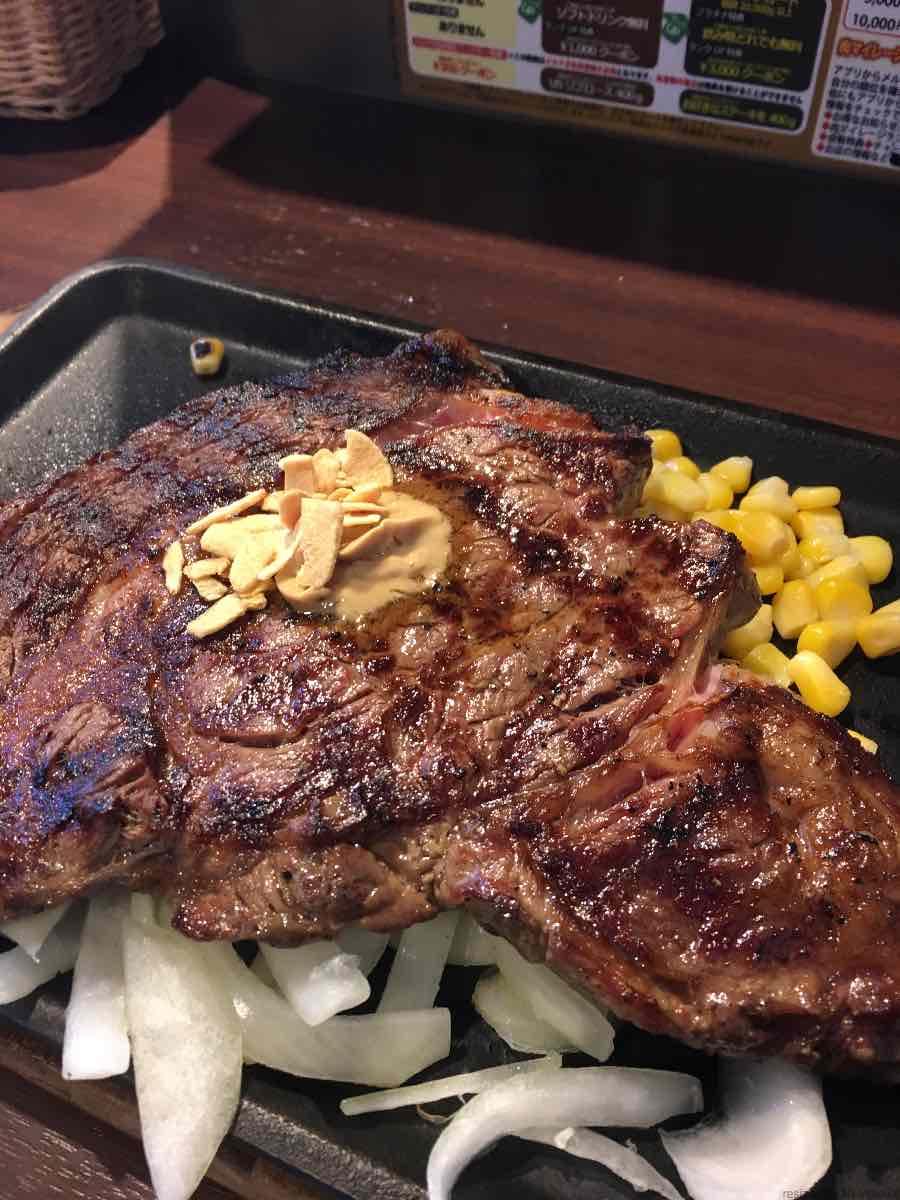 いきなりステーキに初めて行ってきたってハナシ