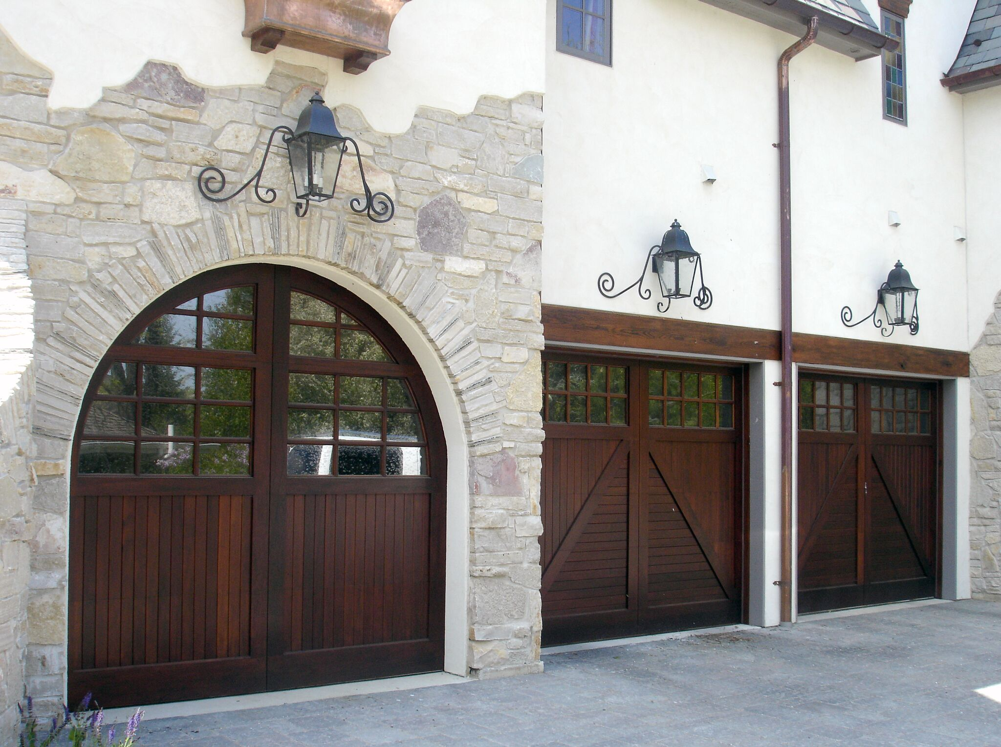 Garage And Front Doors That Match Traditional Style Garage Doors Historic Entry Doors Cambek