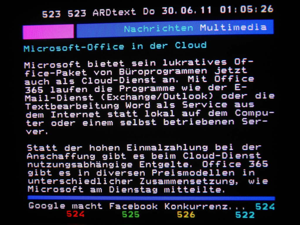Arte Teletext Online Teletext In Germany Part I Cambus