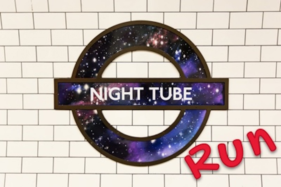 Night Tube Run – Northern line route