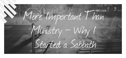 Sabbath Important