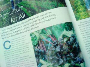 Cornwall Life article sept 09