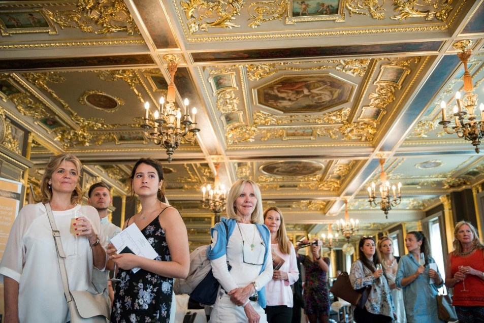 Event Photographer London at Cafe Royal for Brides Magazine 11
