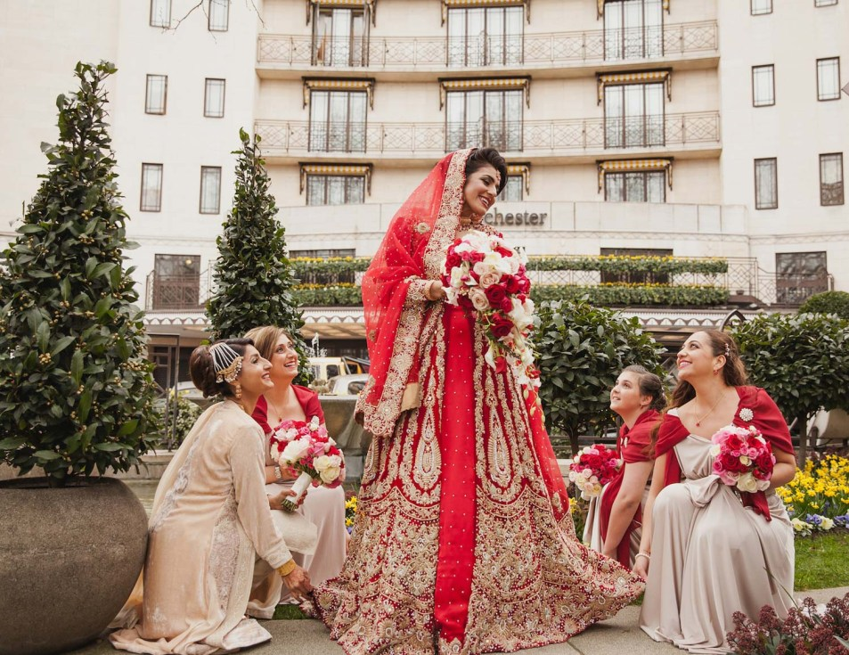 Cameo Photography Asian Wedding Photography at The Dorchester Hotel London_27 copy