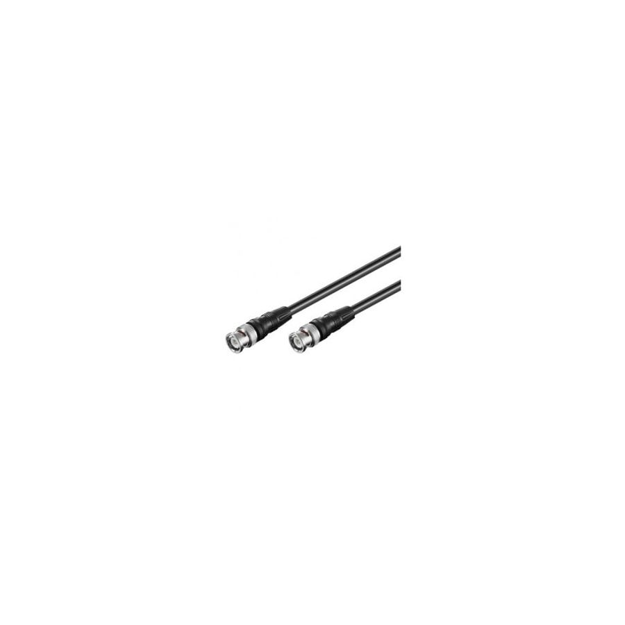 Alarme Barriere Infrarouge Exterieur Cable Bnc Male/male Coaxial 50 Ohms 2 M