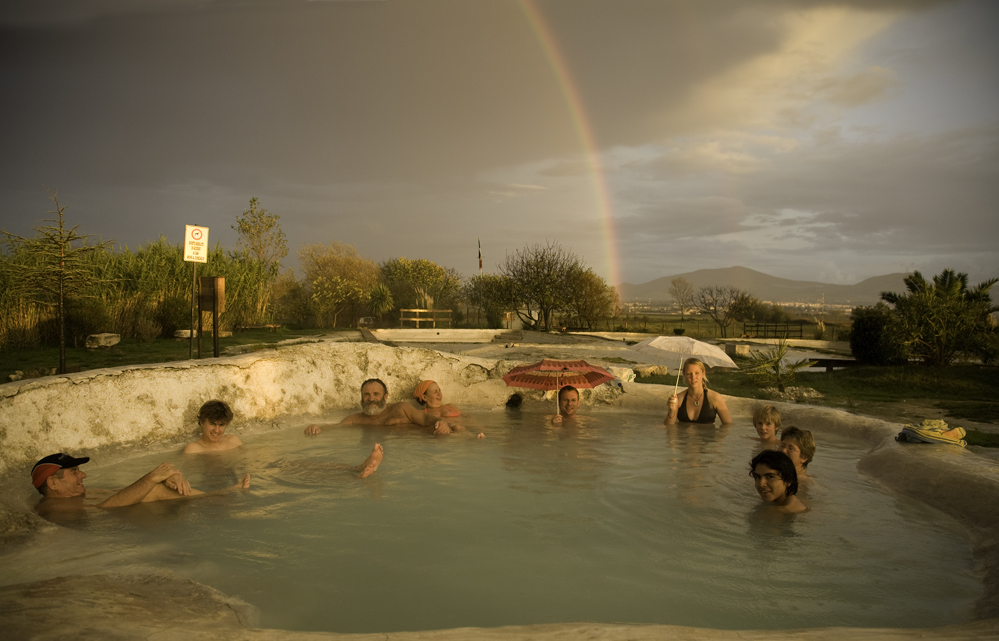 Bagno Vignoni Free Thermal Baths Spas And Hot Springs Trivia