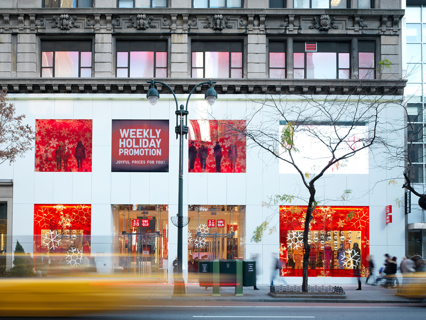 New York Industrial Works Uniqlo Holiday New York Ny Cameron R Neilson Photographer