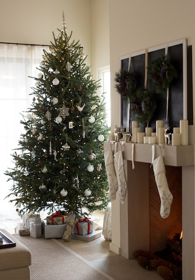Style in Spades  Christmas Morning Brunch - Camille Styles - simple christmas tree decorating ideas