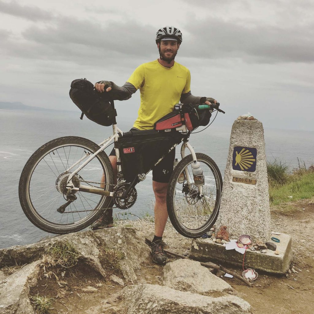 Camino Frances Fahrrad Days 13 15 To The End Of The World Back Santiago Finisterre