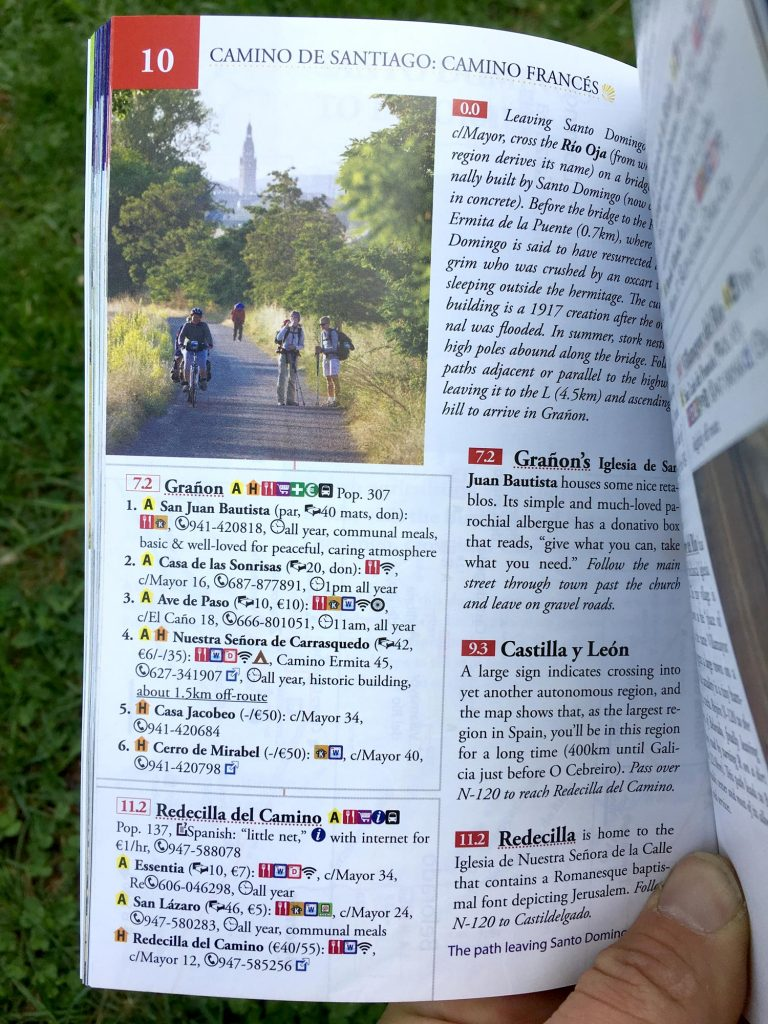 Camino Frances On Bike Guidebook Maps Camino Cyclist