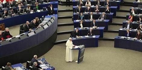 Discurso del Papa Francisco en la Eurocámara