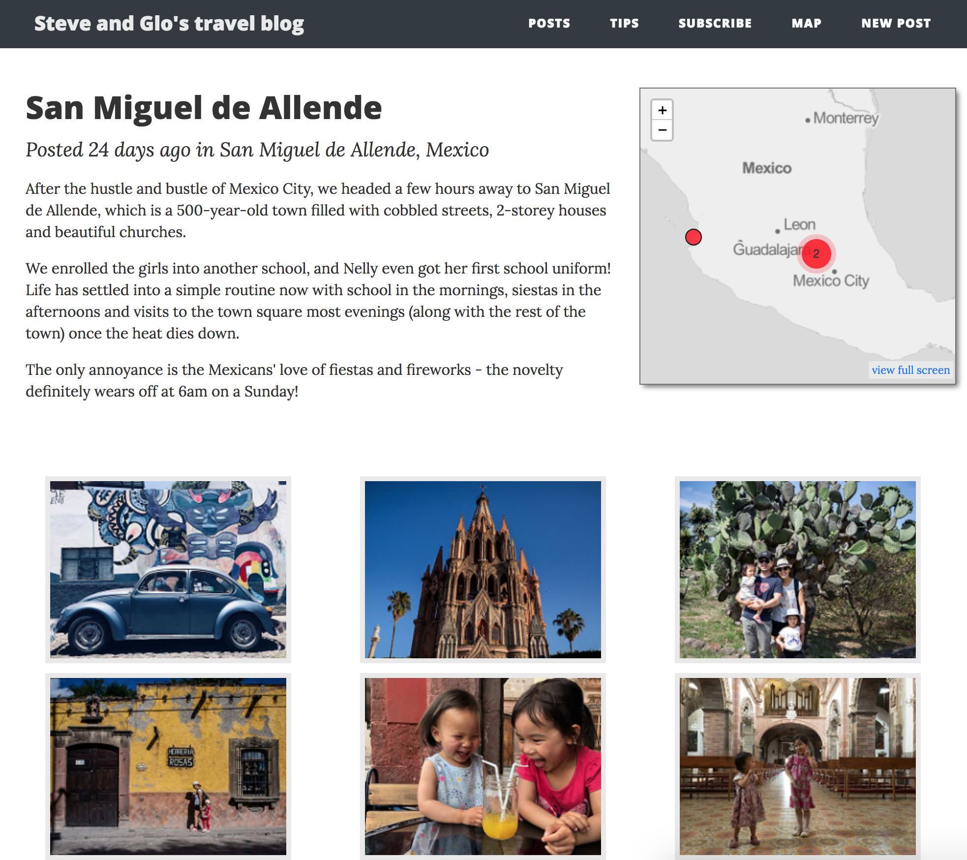 Travel Blog With Map Github Slead Travelblog Travel Blog Which Displays Posts