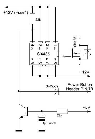 1 wire hub schematic