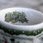 An espresso cup from Gambrinus, Naples' poshest cafe (image from charmingitaly.com)
