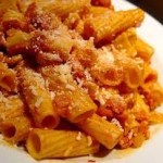 Amatriciana close-up