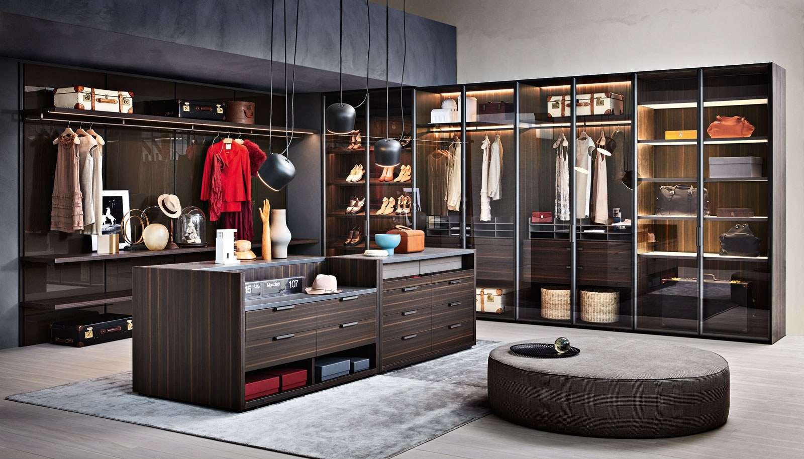 Working Wardrobes Molteni And C Gliss Master Walk In Wardrobe Buy At