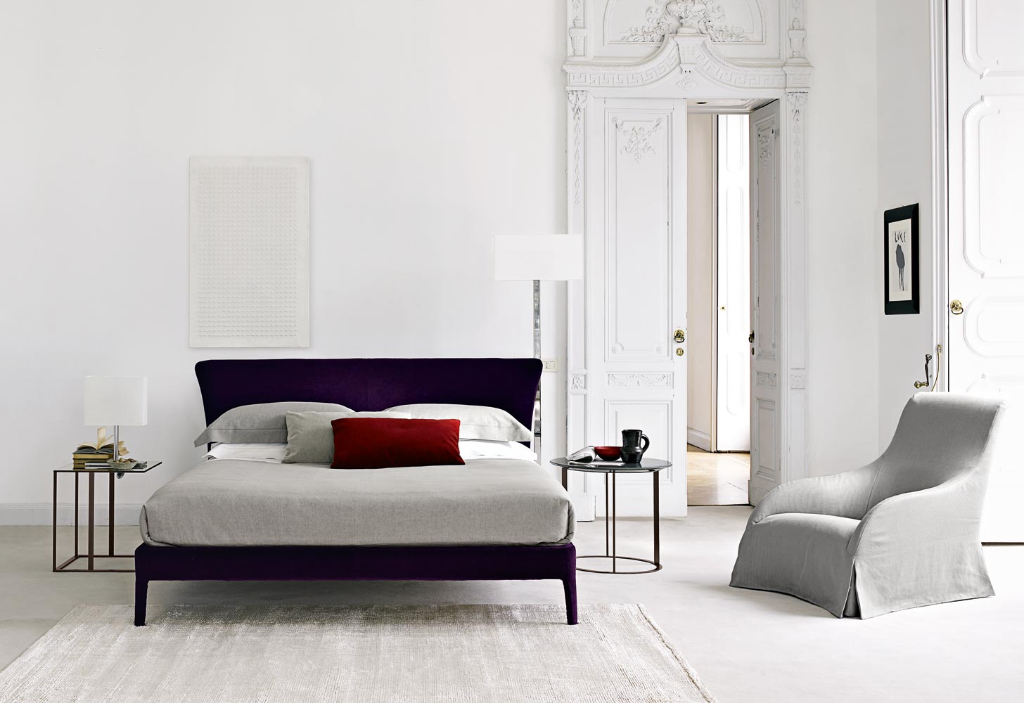 B&b Italia Maxalto Xilos Maxalto B Andb Italia Febo Bed Buy From Campbell Watson Uk