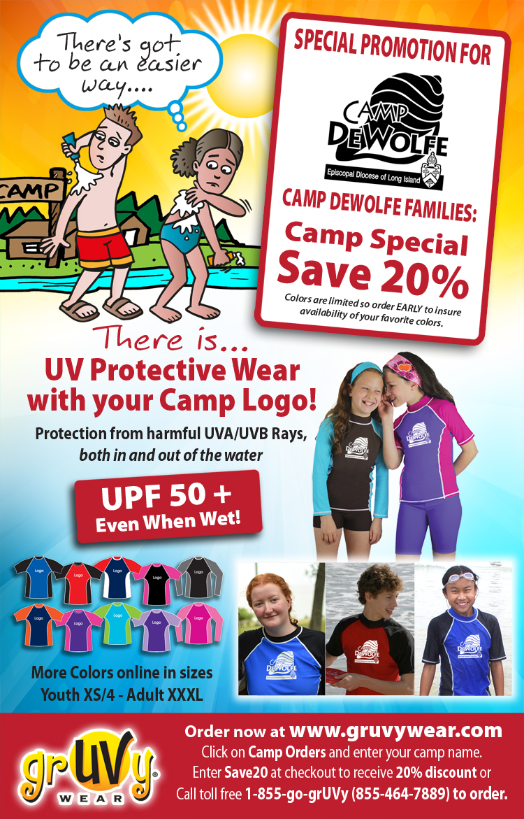 Xxxl Poster Special Offer For Summer Camp Uv Wear Camp Dewolfe