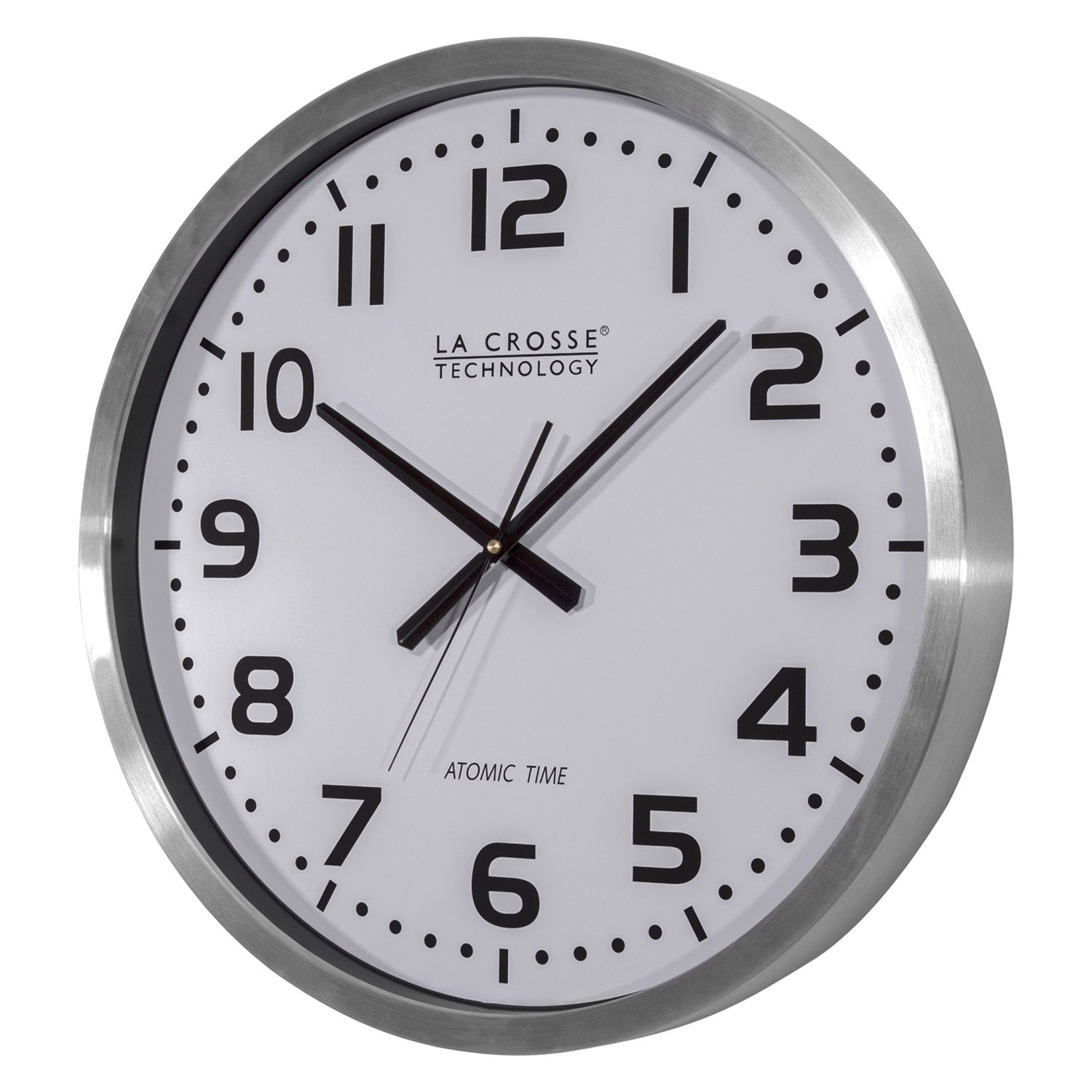 Statement Wall Clocks La Crosse Technology 404 1220 20 Quot Atomic Wall Clock